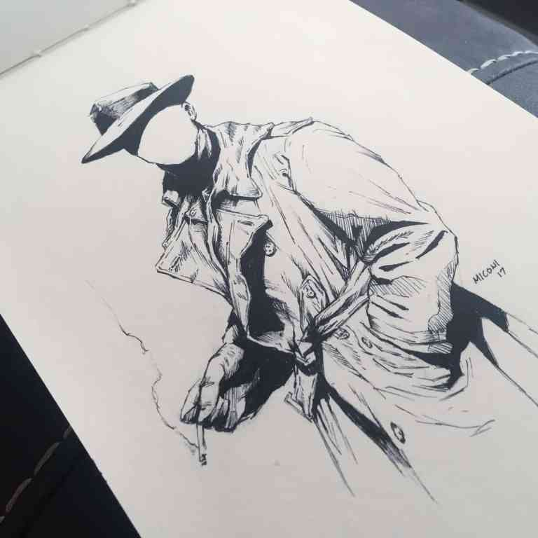 Inktober Day 15 Mysterious