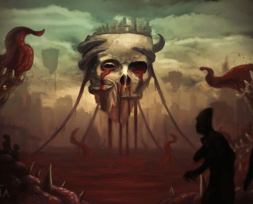 Siege of Inaolia Concept Art | Flesh Pits