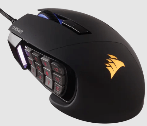 Corsair Scimitar RGB Pro CH-9304111-NA Review and How To Install Software Corsair Scimitar RGB Pro Gaming Mice