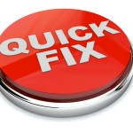 """Project management can't help with the """"quick fix"""" syndrome"""