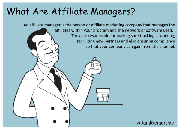 what are affiliate managers