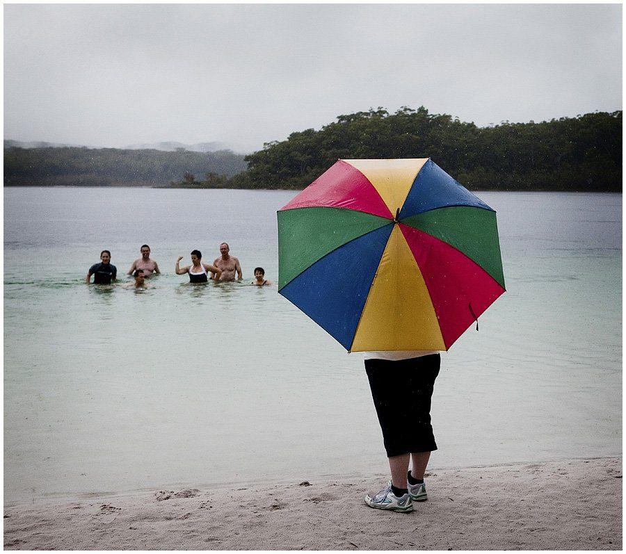 Fraser Island Rain