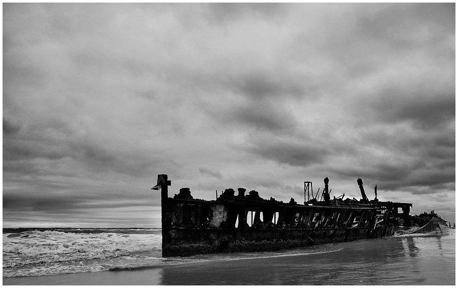 Fraser Island Rain shipwreck