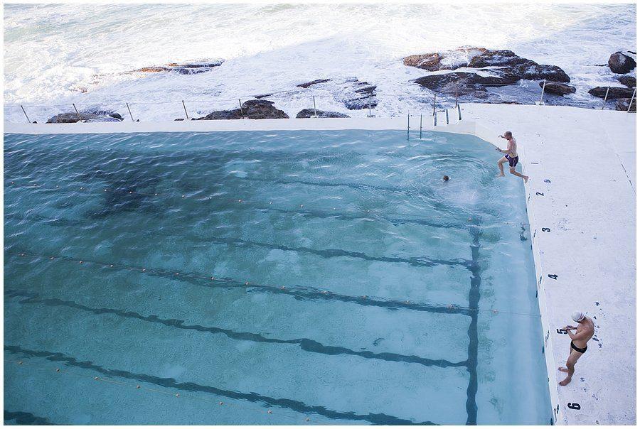 swimming pool Bondi beach