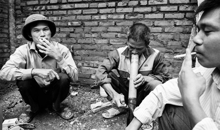 smoking vietnam