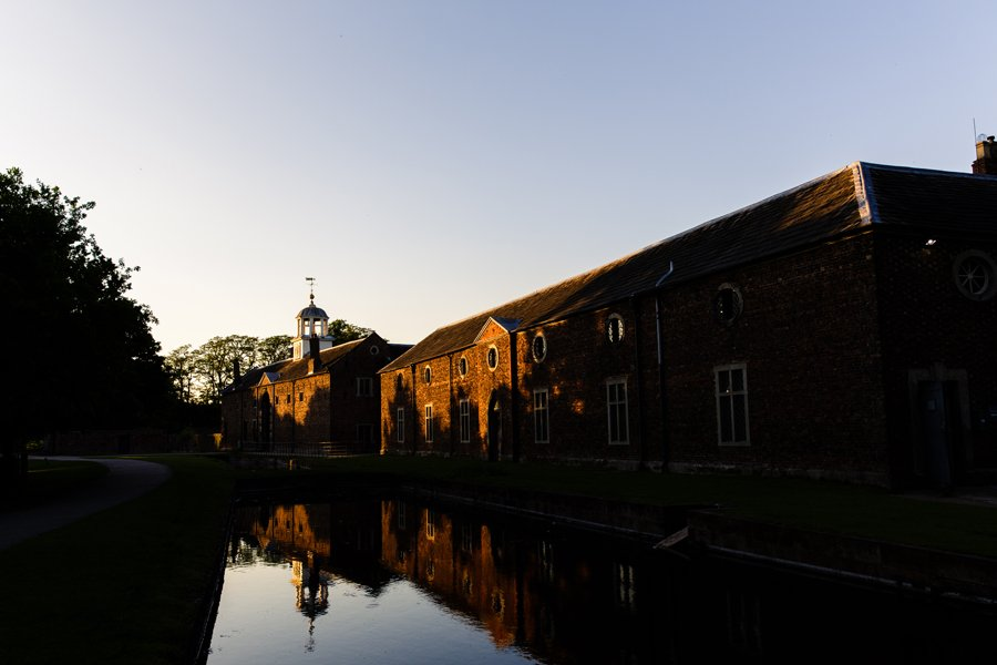 Dunham Massey wedding reception