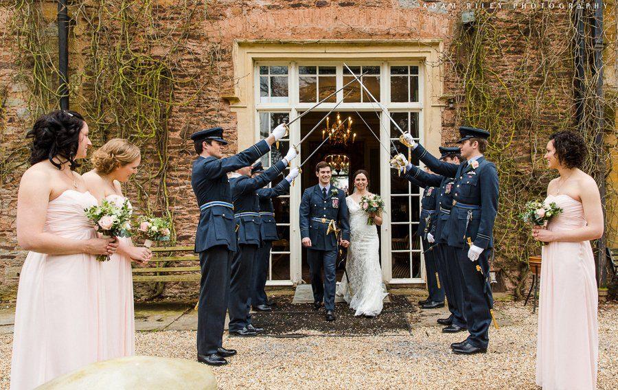 guard of honour wedding