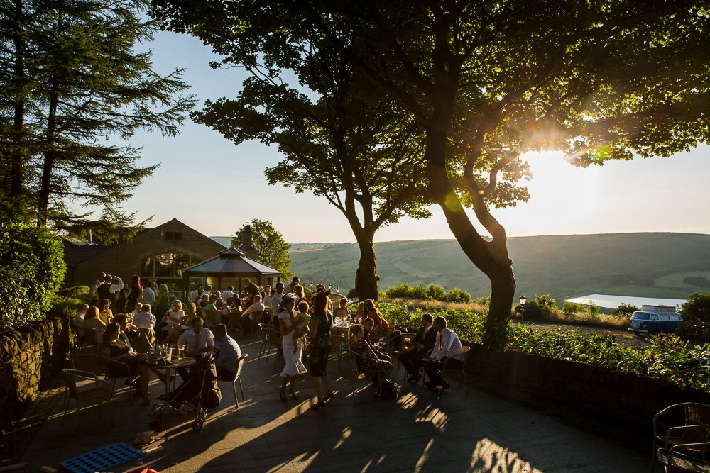Saddleworth hotel summer wedding