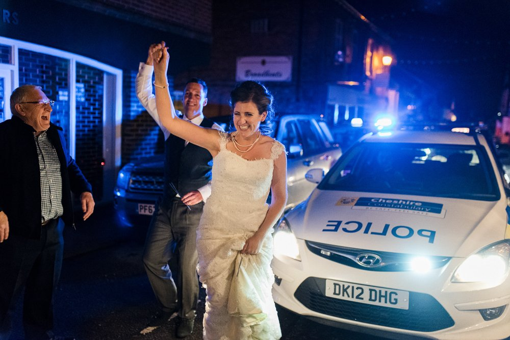 police wedding