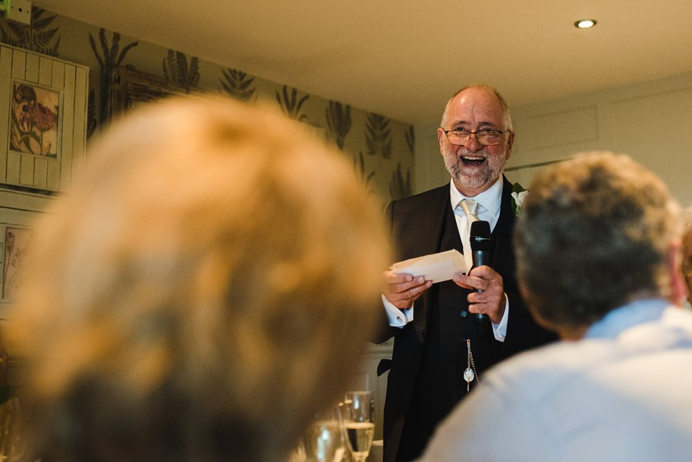 Great John Street wedding speeches