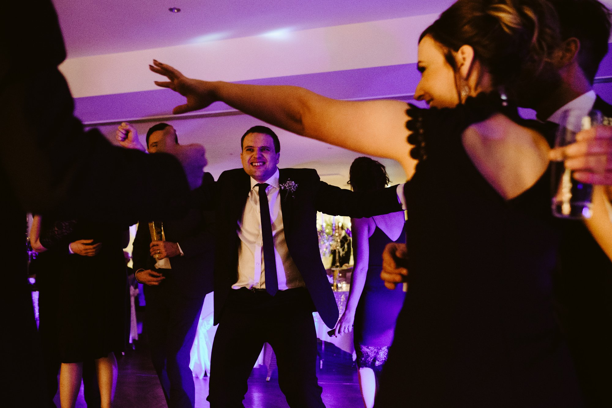 dancing mitton hall wedding