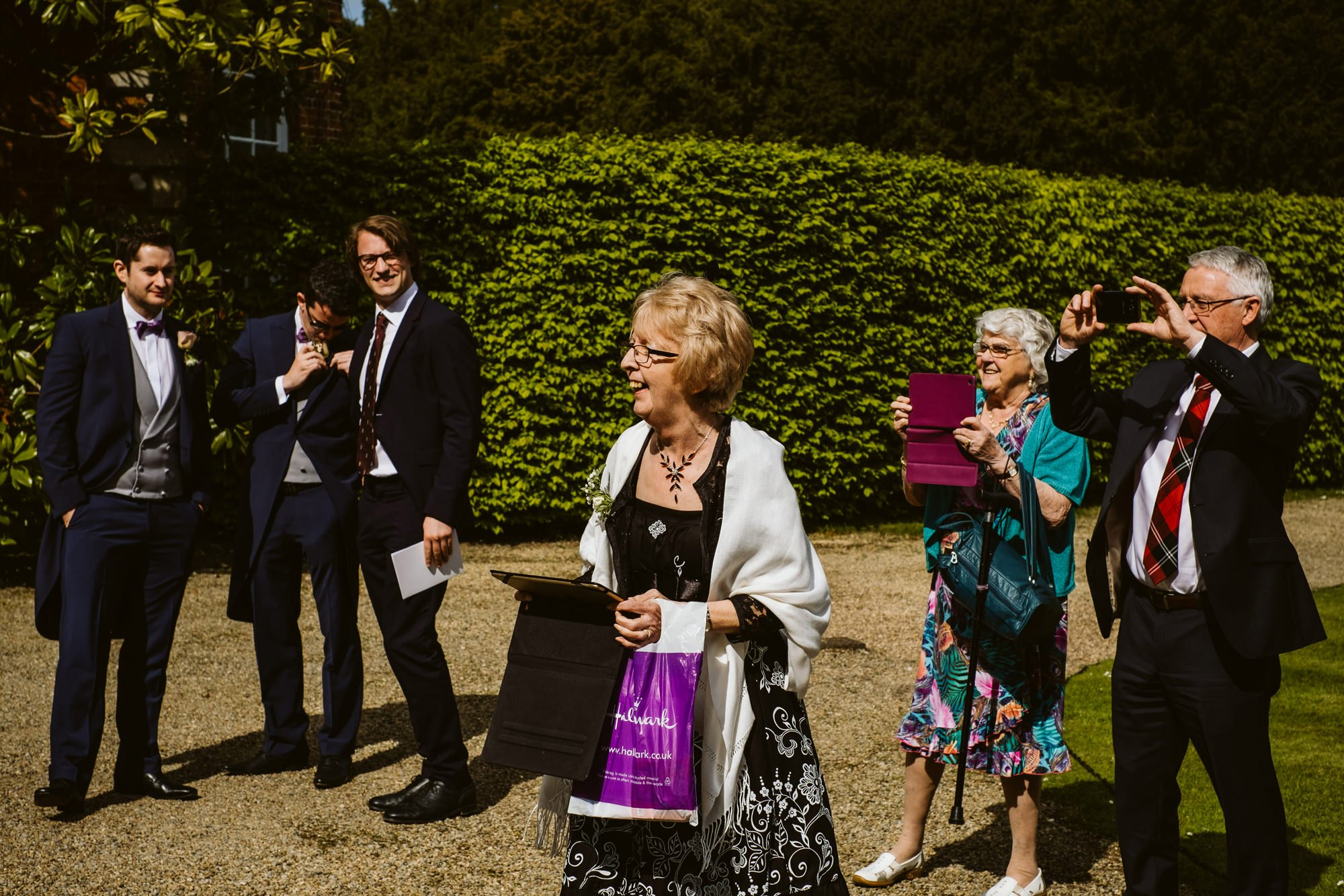 Newby Hall wedding