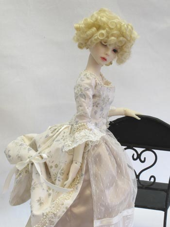1790 MSD Doll Clothes Pattern