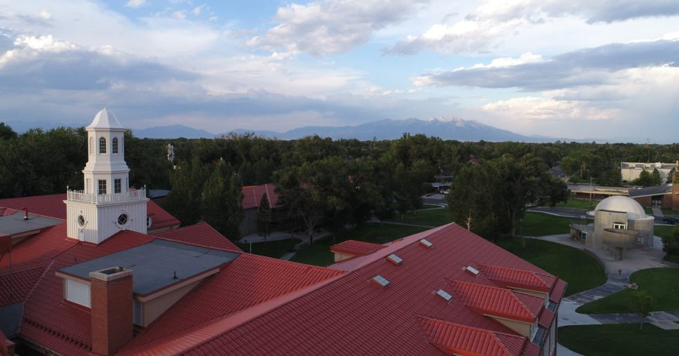 Adams State University in Alamosa, Colorado