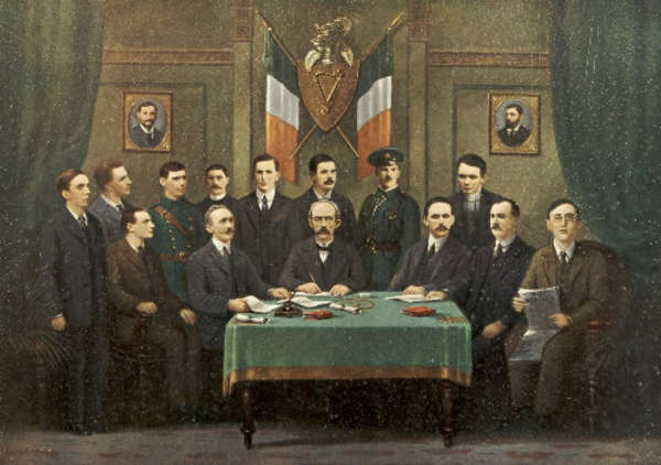 LOT44 Irish School 20th Century Easter 1916 Depicting The Leaders Of The 1916 Rising