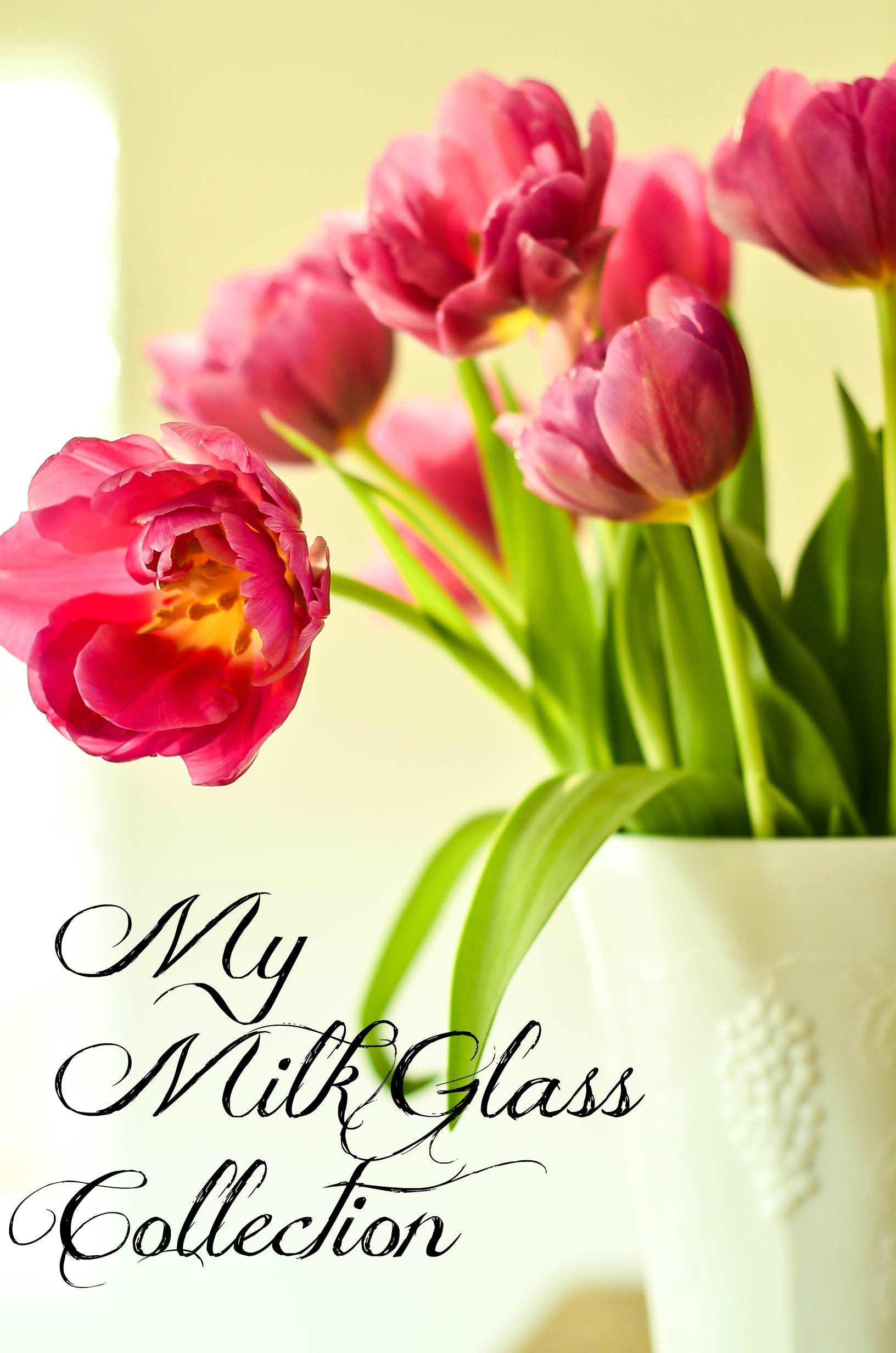 Slightly Coastal-My Milk Glass Collection