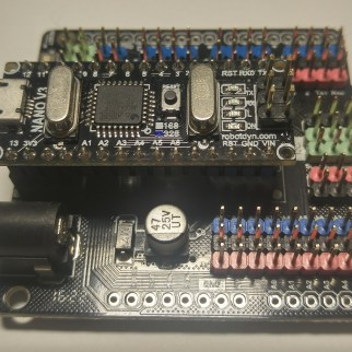 Arduino Nano with Expansion Board