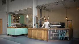 Extract Coffee at Sustainable Bankside near The Shard, London