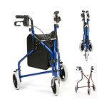 3 wheel walker rollator
