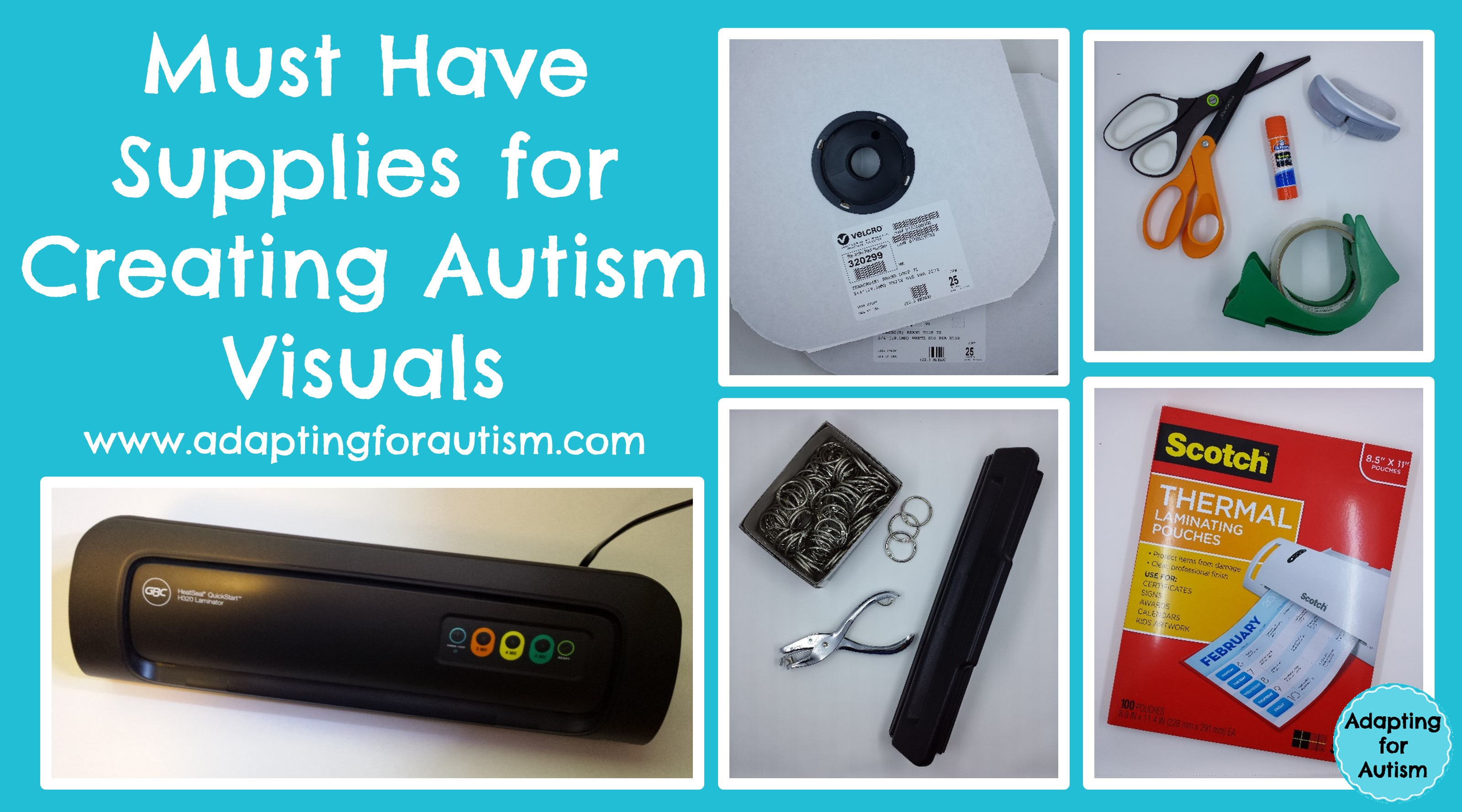 Autism Visual Supports Supplies
