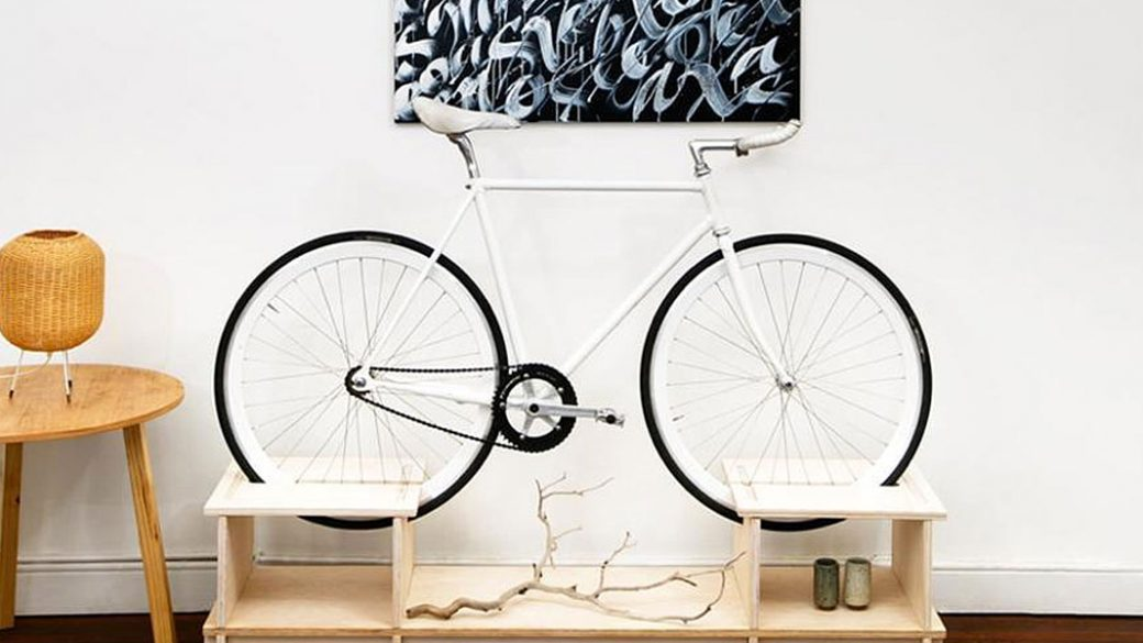 bike rack for small apartments