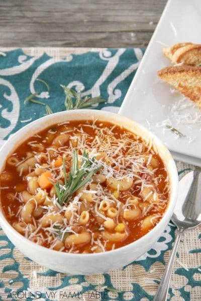 Tomato Noodle Soup - Around My Fam