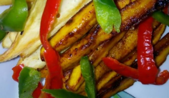 Enjoy Hot Potatoes Plantain fries