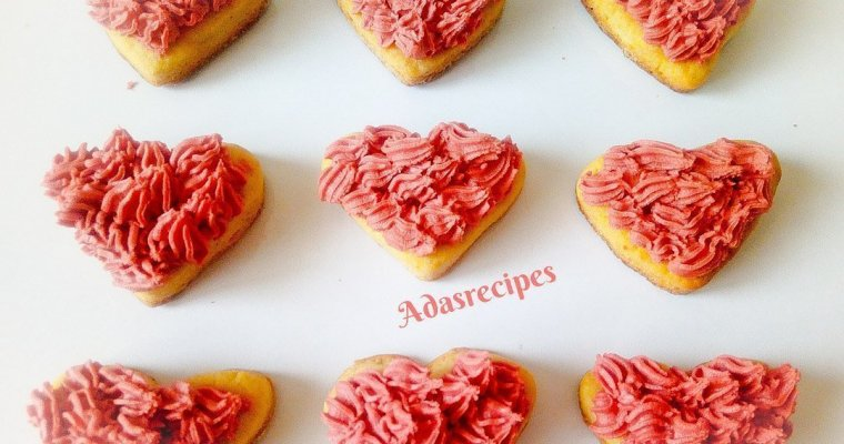Valentine's Day Cookies Made With Stove