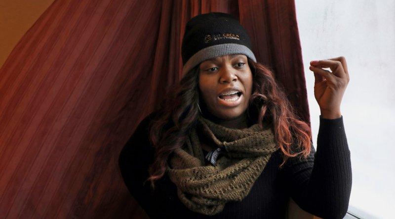 super hero Candice Payne, of Chicago