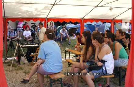 Gombaszögi DH Tábor – Életképek, 2. nap