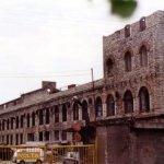 Volta tsaariaegse tootmishoone varemed Tööstuse tänava ääres.