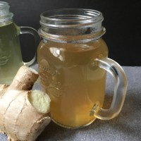 Soothing Ginger Honey Tea