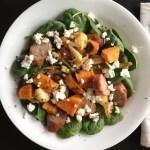 Roasted Veggie Sausage Salad