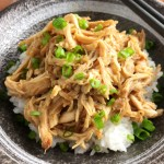 Slow Cooker Teriyaki Pulled Chicken
