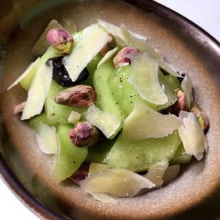 Pistachio Cranberry Melon Salad