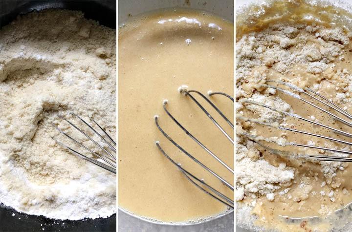 How to make almond pancakes