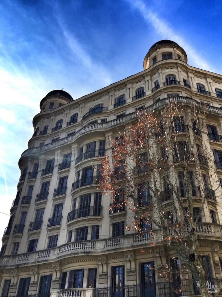 immeuble barcelone
