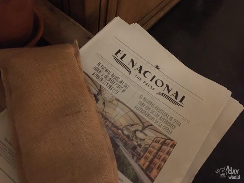 news el nacional barcelone