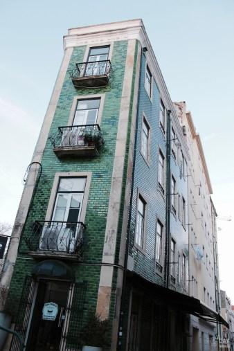 façade lisbonne