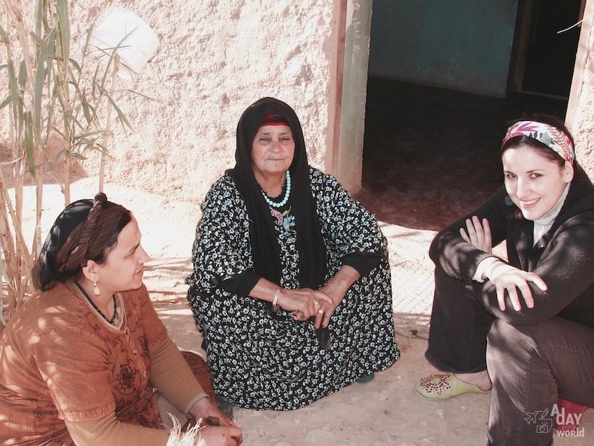 village berbere maroc atlas