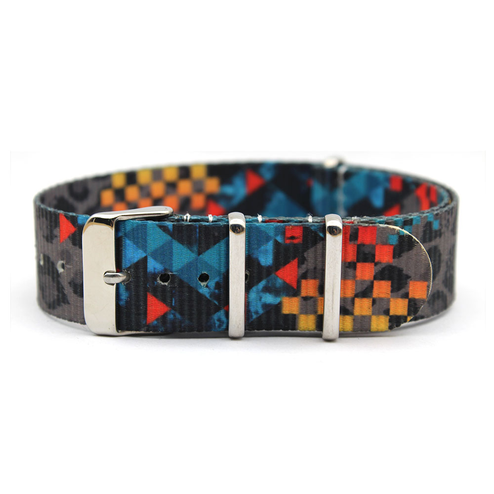 fashion printed nato strap nylon 20mm