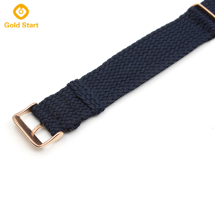 perlon strap navy blue 20mm