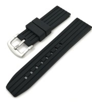 black rubber straps high quality brushed buckle zuludiver
