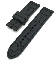 high quality alligator rubber band 24mm black