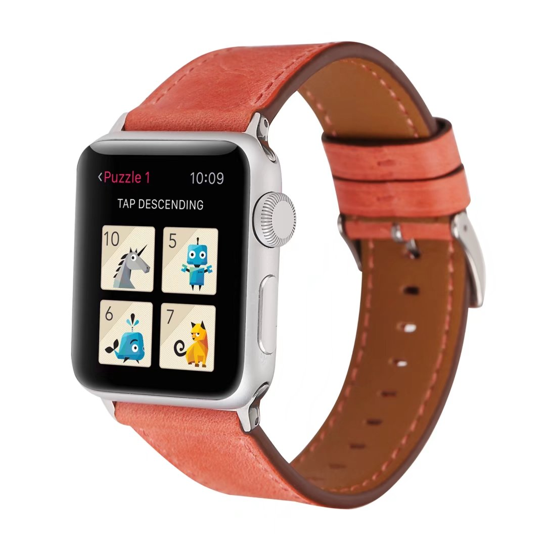 ladies apple watch bands real leather 38mm 42mm