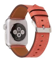 ladies apple watch bands red leather