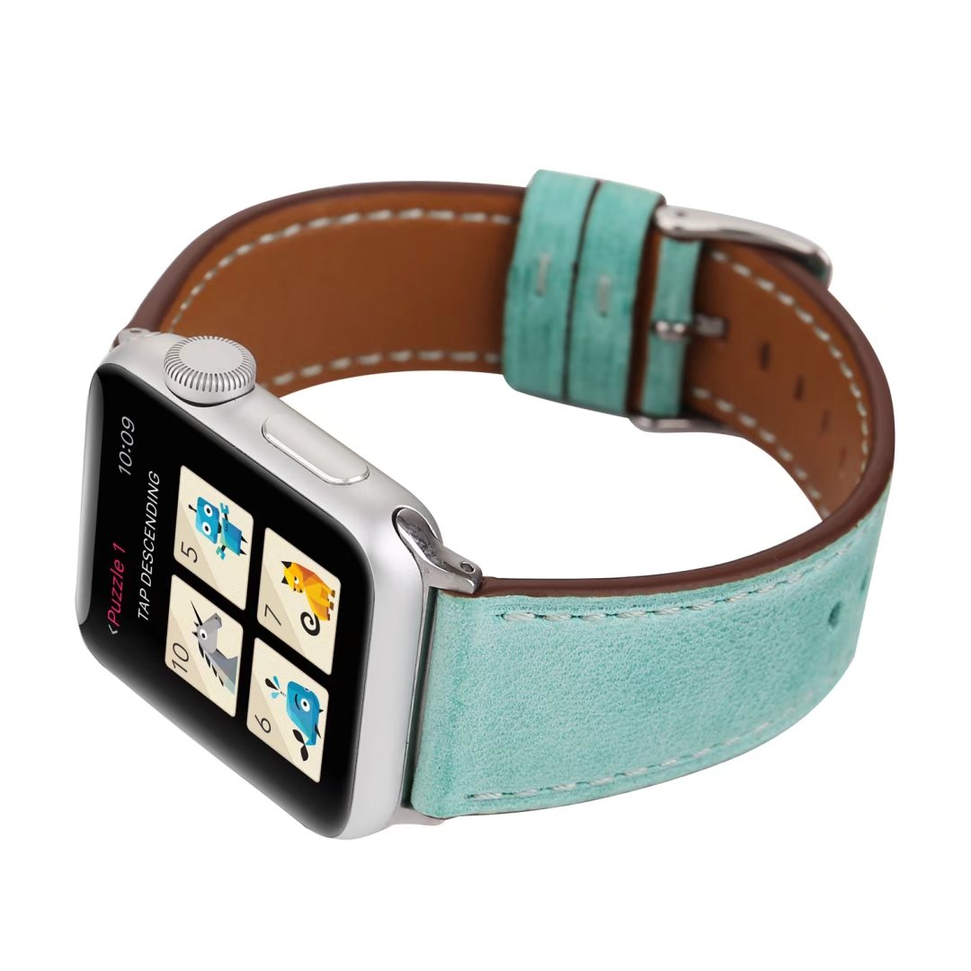 apple leather watch band 38mm 42mm