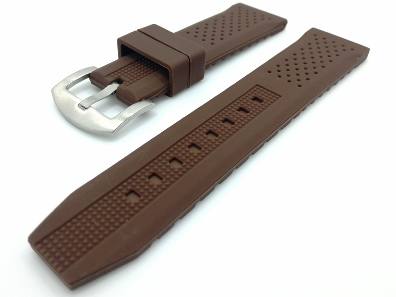 custom rubber watch straps silicone china supplier
