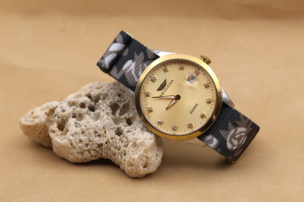 women watch bands floral nylon printed
