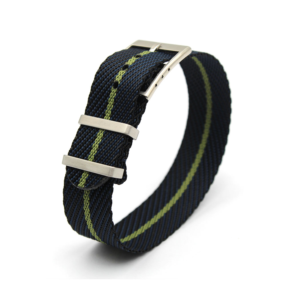 nylon nato strap adjustable 20mm 22mm